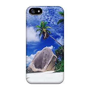 Protective Tpu Case With Fashion Design For Iphone 5/5s (beach)