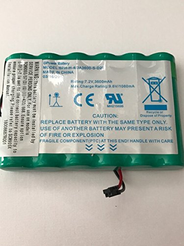 Brand New DSC IMPASSA 9057 Battery 6PH-H-4/3A3600-S-D22 7.2