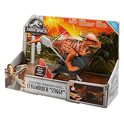 Jurassic World Rip-run Dinos Stygimoloch: Toys & Games