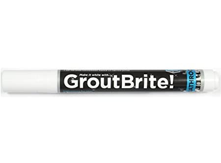 Brilliant Groutbrite Bathroom Tile Grout Whitener Grout Pen Cleaner Grout Interior Design Ideas Philsoteloinfo