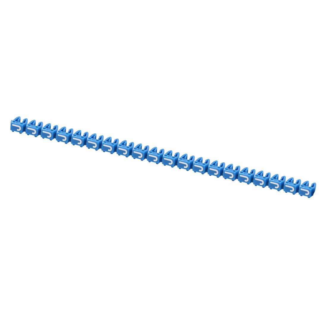 uxcell 20Pcs LettersJ Network Cable Labels Markers Blue for 3.0-4.0mm Dia Wire