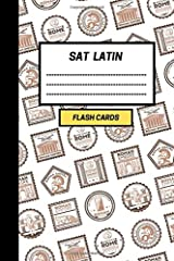 SAT Latin: Create your own SAT Latin vocabulary Flash cards. Include Spaced Repetition and Lapse Tracker (480 cards) Paperback