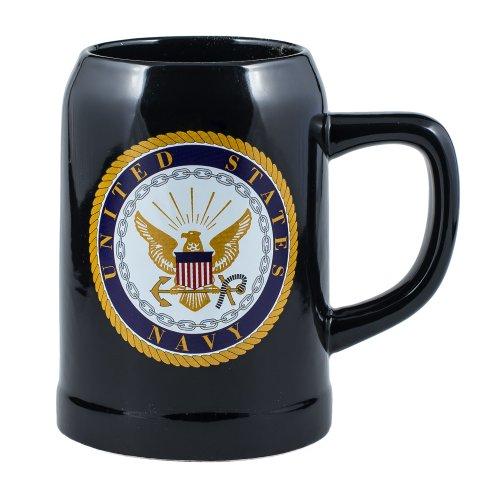 United States Navy Stoneware 17 Ounce Mug