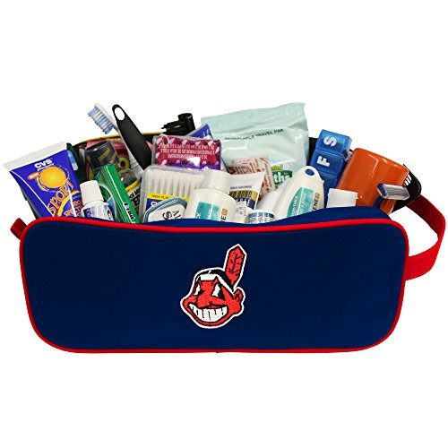 Cleveland Indians Case - Charm14 MLB Cleveland Indians Travel Case with Embroidered Logo
