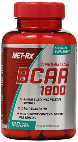 Complément alimentaire de MET-Rx BCAA arroser 1800, comte 120
