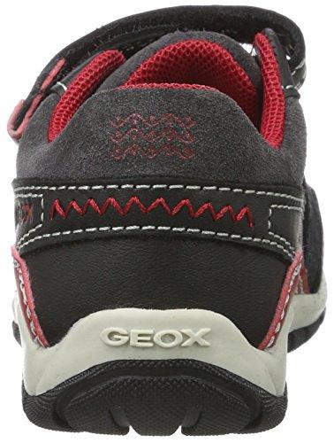 Niños Red B para black Negro B Shaax Geox Bebé Zapatillas z6YwTq