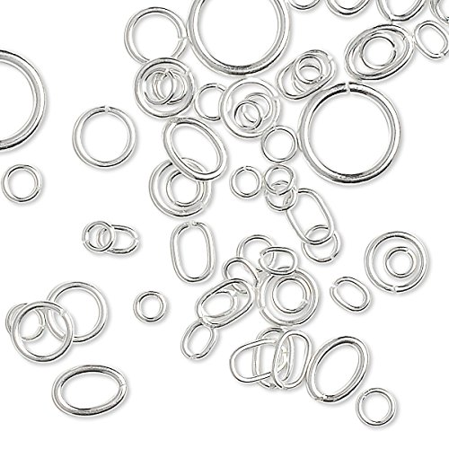 Assorted Sterling Jumprings Jewelry Findings