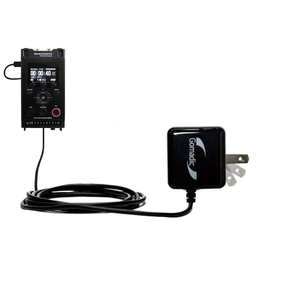 Advanced Rapid Wall AC Charger Compatible with Marantz PMD661 MKII (DA620PMD) - Amazingly powerful home charge design built with Gomadic Brand TipExchange