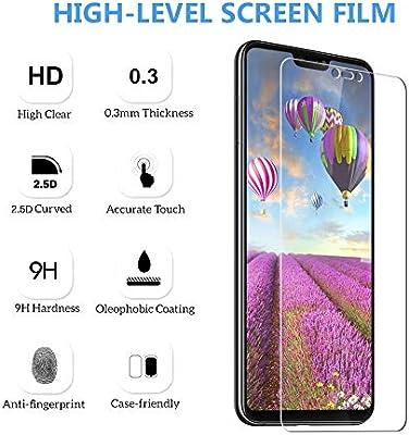 Flysee Cristal Templado Xiaomi Mi 8 Lite, [3-Unidades] Protector Pantalla Xiaomi Mi 8 Lite, Alta Definicion, Sin Burbujas, Anti-Huella [9H Dureza, Anti-Arañazos] Protector para Xiaomi Mi 8 Lite: Amazon.es: Electrónica