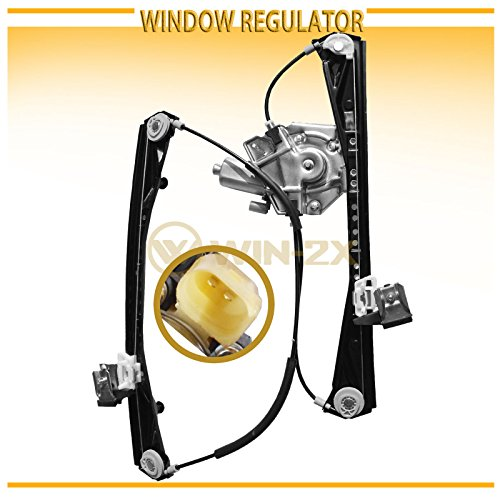 WIN-2X New 1pc Front Driver (Left) Side Power Window Regulator & Motor Assembly Fit 00-02 Lincoln LS 00-01 Jaguar S-Type 02 VIN Up To M45254