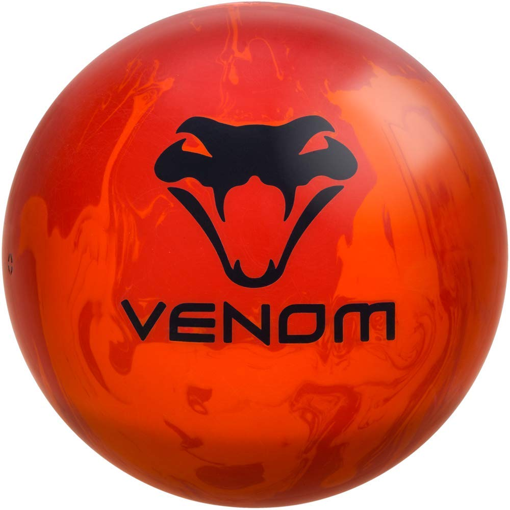 Motiv Venom Recoil Bowling Ball- 2-Tone Orange 12lbs