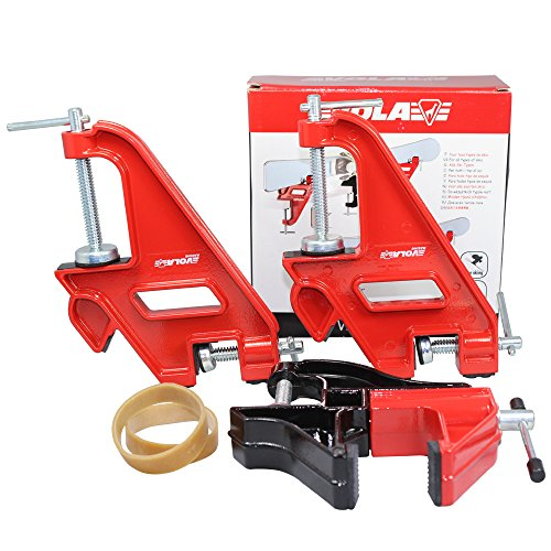 VOLA Alpine Ski Jaws Vise Set Compact Race or Home Waxing Tuning Edging by Vola