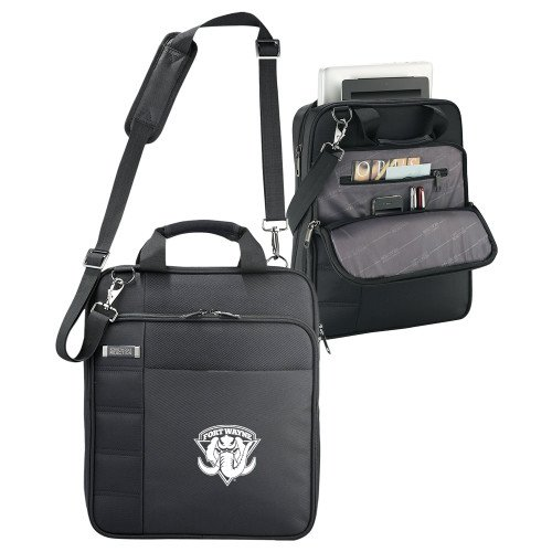 IPFW Kenneth Cole Black Vertical Checkpoint Friendly Messenger 'Primary Mark' by CollegeFanGear