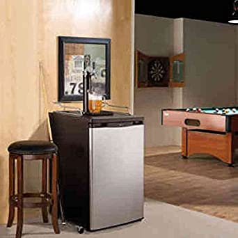 Danby® 5.2 cu.ft. Dual Tap Keg Cooler: Amazon.ca: Home & Kitchen on home bar with kegerator, home bar colors, home bar mixers, home bar furniture, home bar refrigerators, home wine bar, home wet bar, home bar chairs, home bar storage, home beer bar, home mini bar, home bar lights, home bar appliances, home bar kitchen, home bar equipment, home bar glass, home bar stainless steel, home bar accessories, home bar sinks, home bar mirrors,