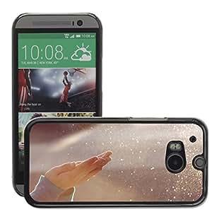 Super Stellar Slim PC Hard Case Cover Skin Armor Shell Protection // M00050263 aero bokeh water creative // HTC ONE M8