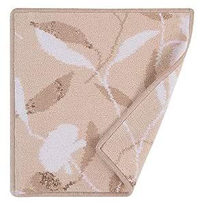 Feiler Clover Chenille Towel - Beige