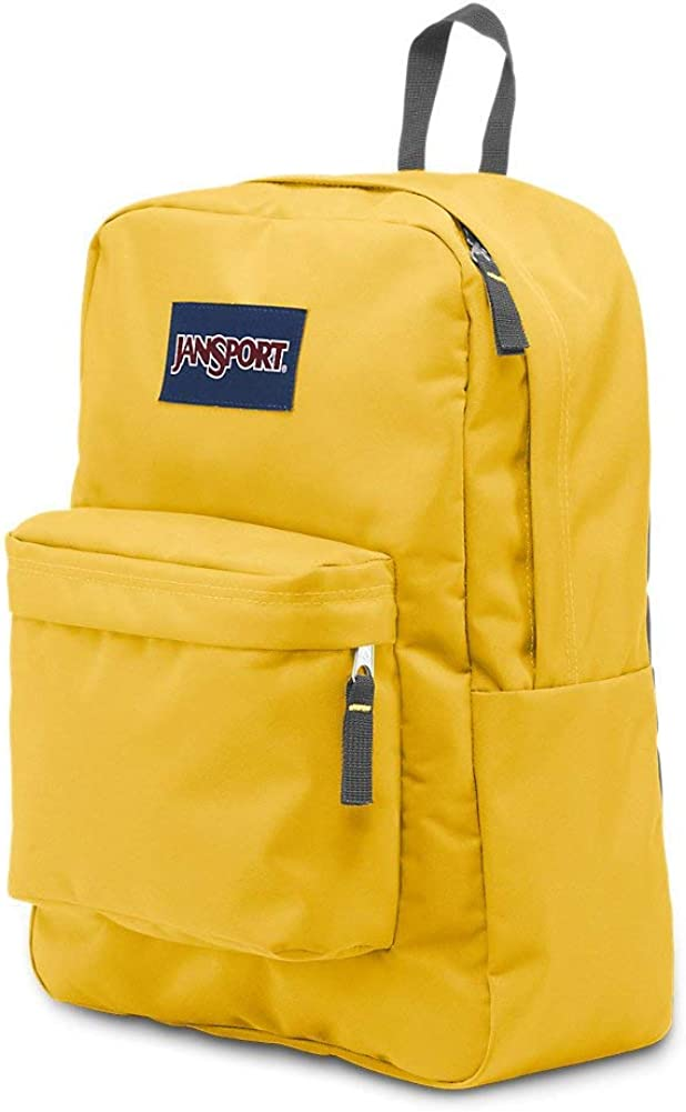 JanSport OverExposed Backpack (Aqua Dash / Yellow)