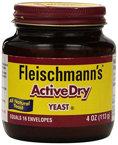 Fleischmann's Yeast, ActiveDry 4 oz Jar