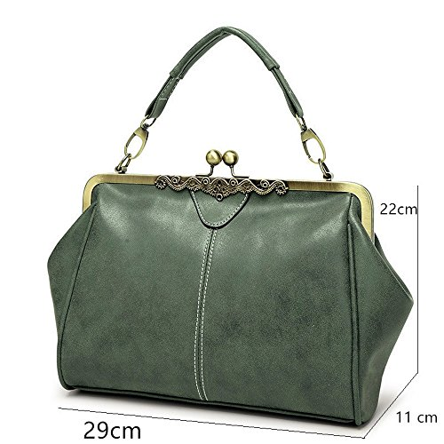 PU Bag Messenger Handbag Women Small Quality Bag Clutch Leather high Shoulder Tote Small Bag Retro OYTxdfwY