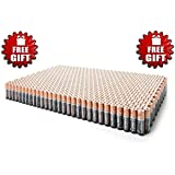 Duracell DuraLock Coppertop Alkaline Batteries - Plus Free Gift - Choose Your Pack (100 AAA)
