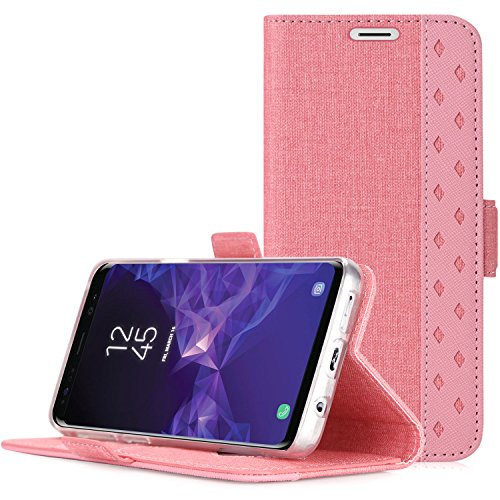Samsung Galaxy S9 Plus Wallet Case, ProCase Folio...