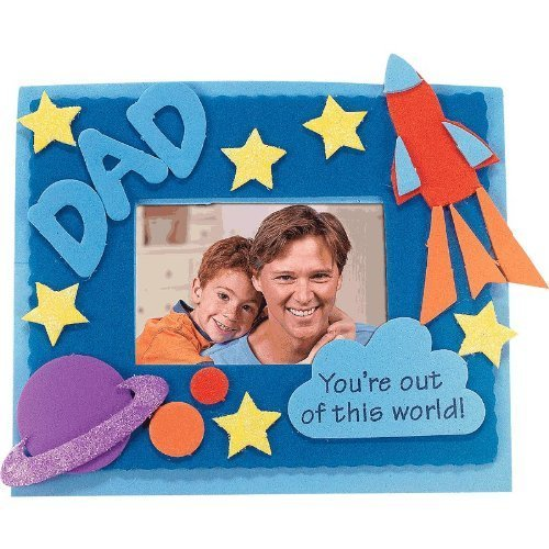father's day craft foam photo frame classroom kids