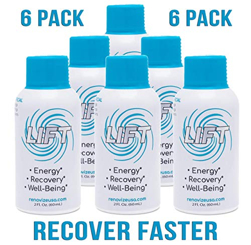 Lift Hangover Prevention & Morning Recovery Drink–Detox Supplement w/Ginger Root, Ginseng, Milk Thistle, Vitamin B, Electrolytes & Caffeine. Party Smart, Recover Fast, Instant Energy -6pck, 2oz Shots Review
