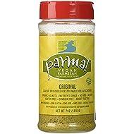 Parma! Vegan Parmesan - Original, Dairy-Free, Soy-Free and Gluten-Free Vegan Cheese, Plant-Based Superfood, Kosher (7 oz)
