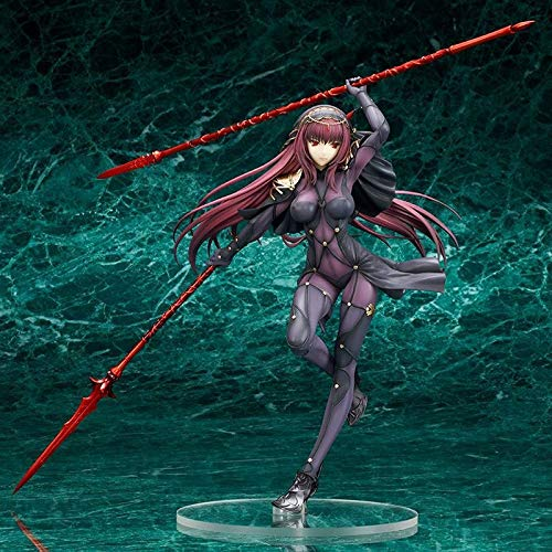 Deep Huble 25cm Fate/Stay Night Figures Fate Grand Order Lancer Scathach PVC Action Figure Collection Model Toy