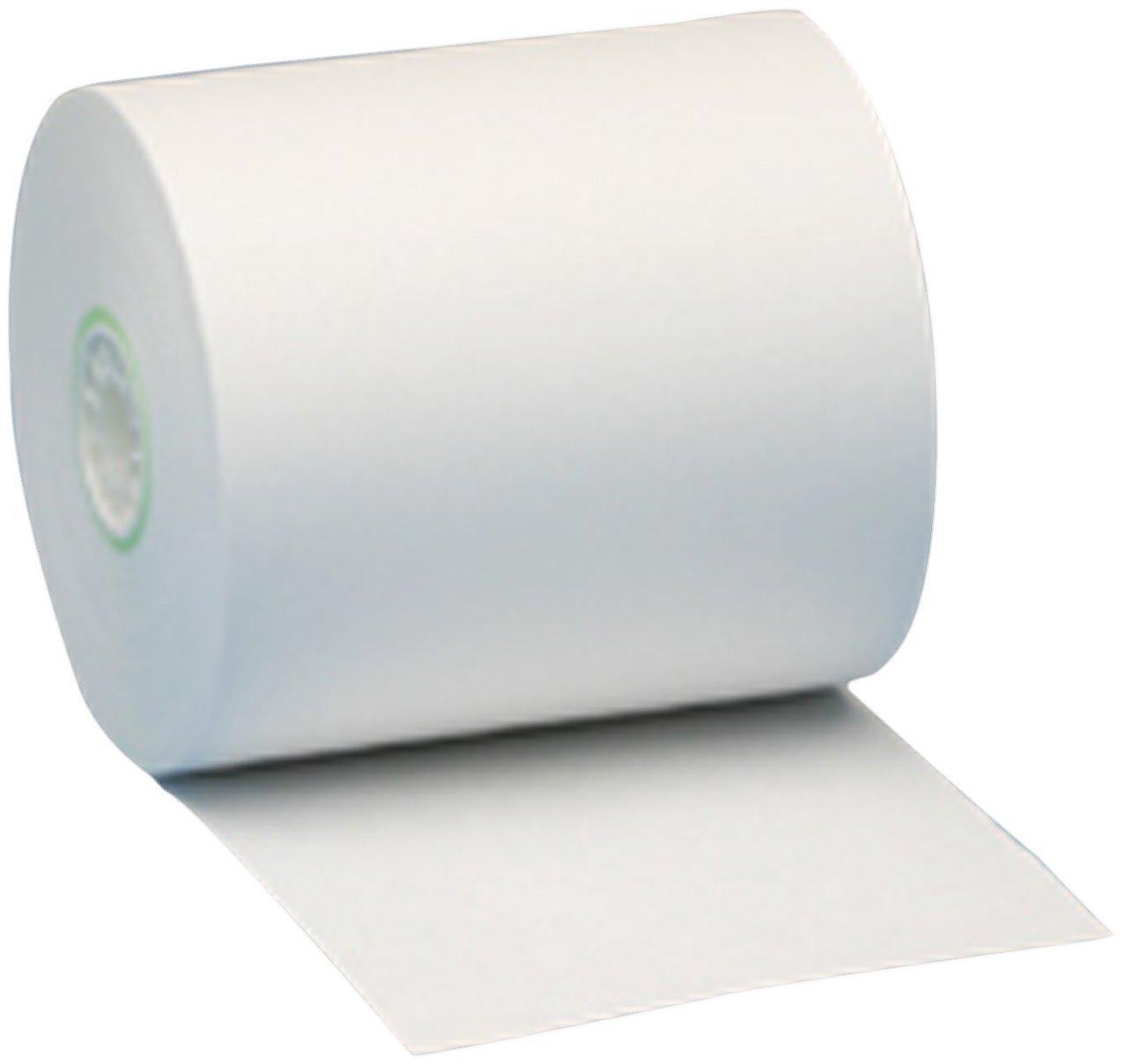 "Nashua 3-1/8"" x 220' Thermal Cash Register Receipt Paper, 50 Rolls"