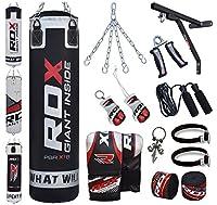 RDX 17PC Boxen MMA Sack 4FT 5FT Boxsack Boxsack Wandhalterung Set Kickboxen...