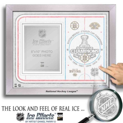 NHL Ice Effects Frames - 2011 Stanley Cup Champions Boston Bruin