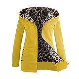 Sales Jackets Winter Warm Hooded Sweater Leopard Cardigan Coat AfterSo Womens