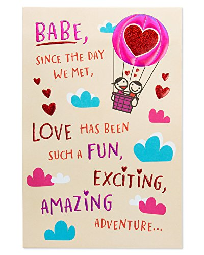unny Babe Valentine's Day Card for Wife with Foil (Sweetest Day Greetings)