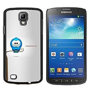 LECELL--Funda protectora / Cubierta / Piel For Samsung Galaxy S4 Active i9295 -- Cry Tears dulce Cita del amor de la historieta Caring --