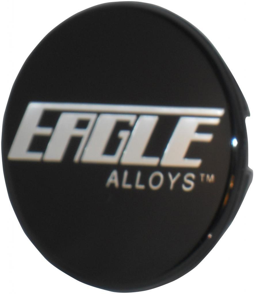 Eagle 3087 or 138 Black Replacement wheel center cap