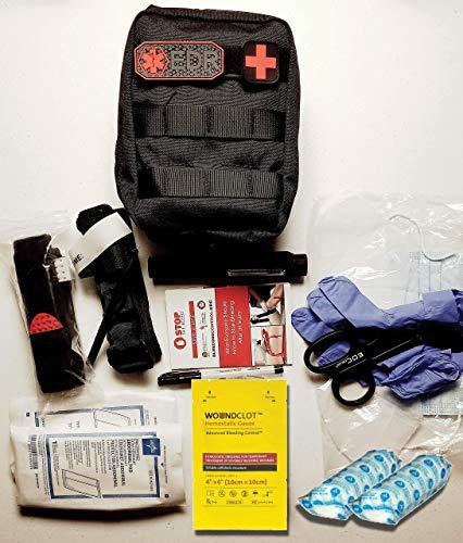 Every Day Responder Black Bleeding Control Kit, Basic Trauma Pack