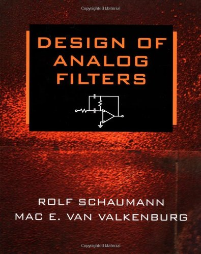 Design of Analog Filters