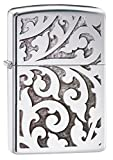 Zippo Filigree Design High Polish Chrome Pocket Lighter
