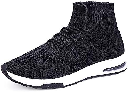 LuckyGirls Calcetines Zapatos con Cordones Calzado Deportivo Fijar Malla Elástico Zapatillas De Correr para Hombre: Amazon.es: Deportes y aire libre