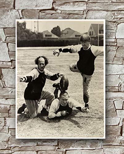 Huawuque Golf with Friends Poster Standard Size | 18-Inches by 24-Inches | 3 Three Stooges Posters Wall Poster Print