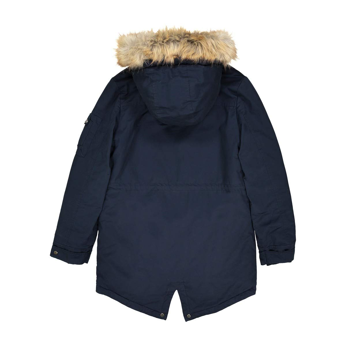 La Redoute Collections Big Boys Warm Parka, 10-16 Years Blue Size 16 Years - 68 in. by La Redoute (Image #5)