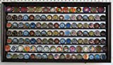 Challenge Coin Display Case Wall Cabinet Shadow