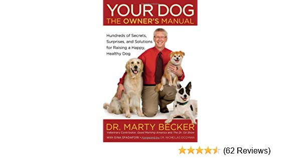 your dog the owner s manual hundreds of secrets surprises and rh amazon com Operators Manual User Manual PDF