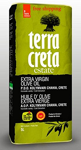 Terra Creta ESTATE Kolymvari Extra Virgin olive oil 5L can