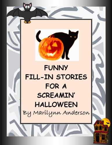 Halloween Family Home Evening Activities (FUNNY FILL-IN STORIES for a SCREAMIN')