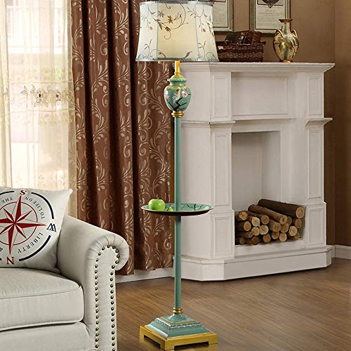 GBX Lampara de pie de escenas multiples, resina de hierro forjado, pintada a mano, minimalista europea, moderna, sala de estar, mesa de centro, estudio, bombilla, decoracion, luz de piso,segundo