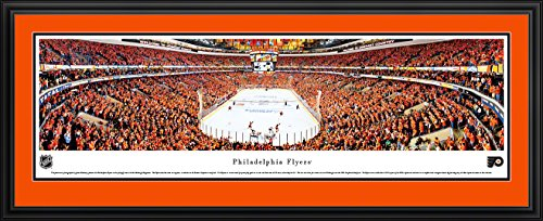 Philadelphia Flyers - Playoffs - Blakeway Panoramas NHL Posters with Deluxe Frame (Artwork Stadium Collection)
