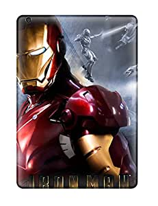 Ipad Air Case, Premium Protective Case With Awesome Look - The Iron Man