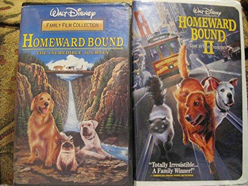 2 VHS tapes! ~ Homeward Bound